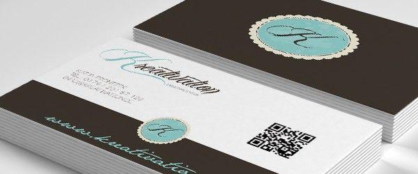 Visitenkarten Mit Qr Code Kreative Visitenkarten