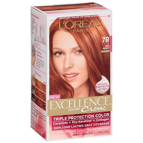 The Best Red Color Will Not Darken Your Hair L Oreal Paris