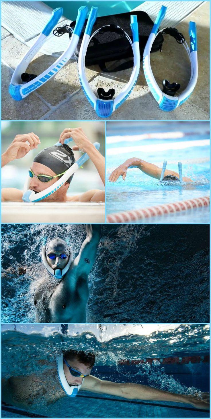 Powerbreather macht das Schwimmen für jedermann angenehm - origami72 #electronicgadgets