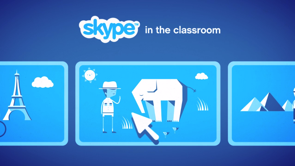 Video conferencing tool, Skype helps you bring new life to your classroom. This technology allows for collaboration and a vast extension of your network.