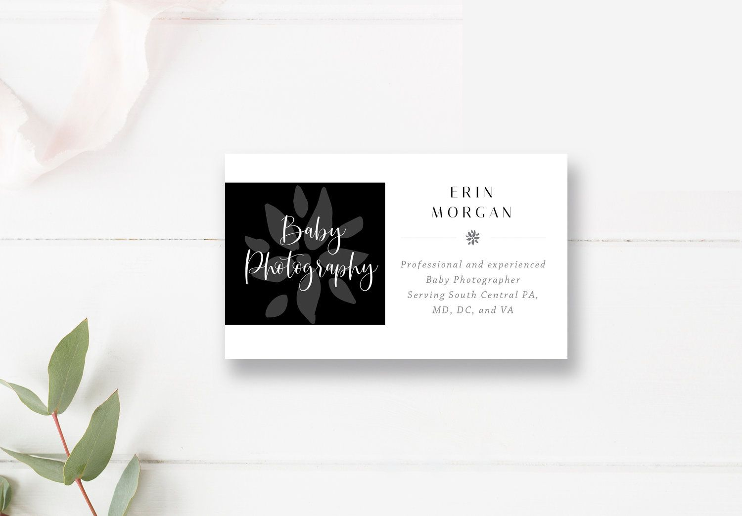 Photography Business Card Template Photoshop Template Photo Business Cards By Stephanie Design Photography Business Cards Photography Business Cards Template Photo Business Cards