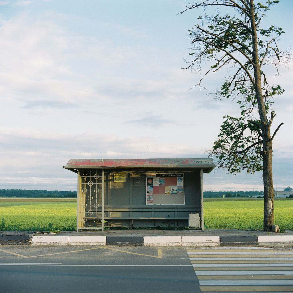 Bus Stop In Somewhere With Images Bus Stop City Aesthetic