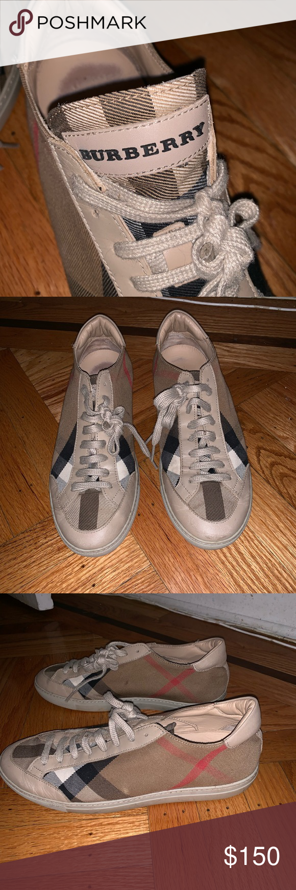 fdc02adc2f7 Burberry Women s Sneaker Size 39 Size 39. Lightly worn