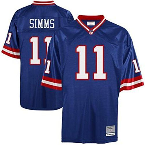 6eed29a3e1c New York Giants Phil Simms Premier Throwback Mitchell Ness Replica Jersey  XXL -- Find out more about the great product at the image link.