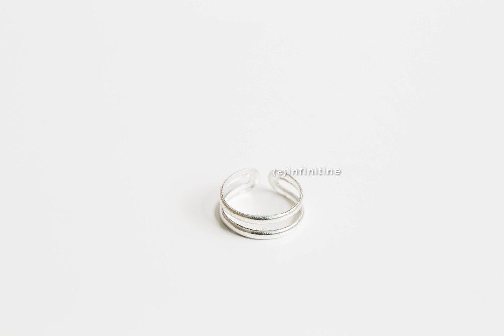 925 sterling silver two lines knuckle ring,SR02N