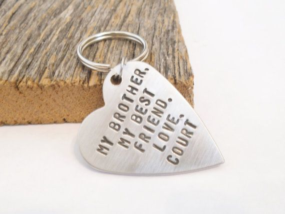 Brother of the Bride Gift for Big Brother Birthday Best Friend Keychain for Brother Sister Gifts Little Brother Graduation Gift Wedding Day & Brother of the Bride Gift for Big Brother Birthday Best Friend ...