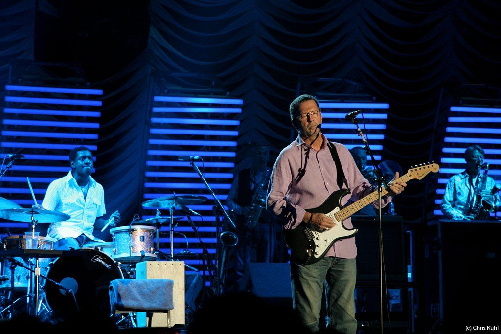 * Eric Clapton *  2006. From England.
