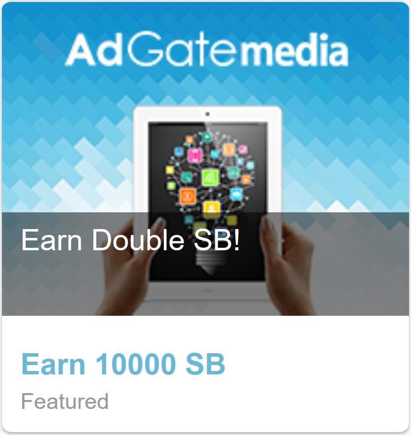 SwagBucks New #AdGatemedia DOUBLE swagbucks Monday 01 April