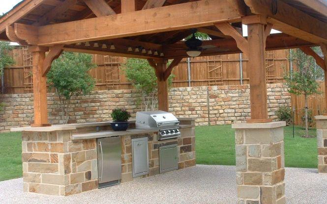 Outdoor Luxury Barbecue Design For Garden Build Outdoor Kitchen Outdoor Kitchen Plans Outdoor Kitchen Decor