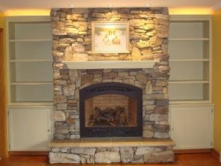 refacing a brick fireplace - Fireplaces Forum - GardenWeb | home ...