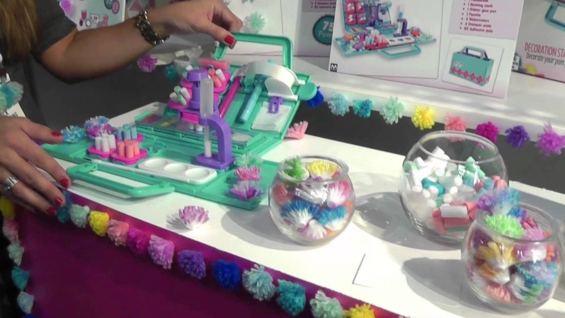Pom Pom Wow! #kidscrafts #kidscrafting #pompomwow | New Toys for ...
