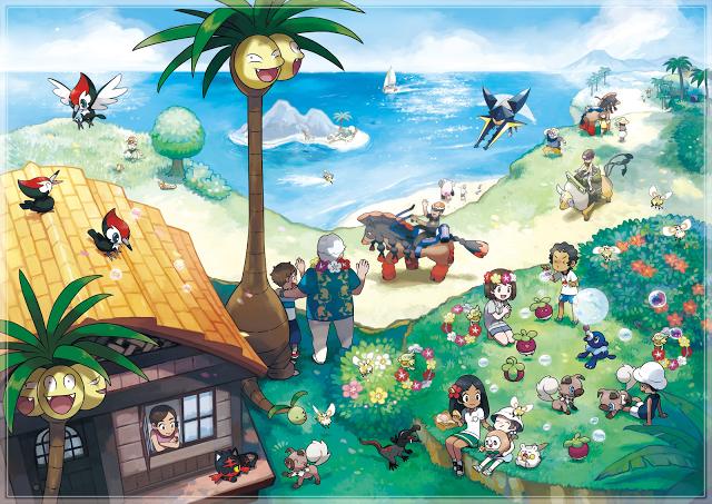 Nuevo Trailer de Pokemon SunMoon Evoluciones finales de los Starters nuevos Pokemon y Mas