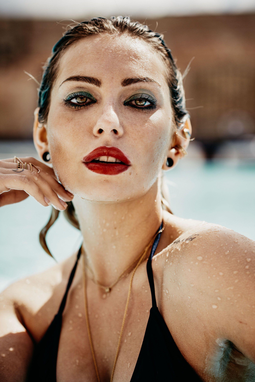Pool Shooting | location: Haubentaucher, Berlin | YSL cosmetics waterproof | find more pictures on my blog