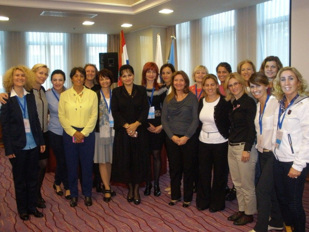 «Trouver sa juste place» Zagreb le 10 oct. Gender Equality in Sport – Comité Olympique | Isabelle Deprez