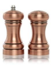 George Home Copper Effect Salt And Pepper Shakers George