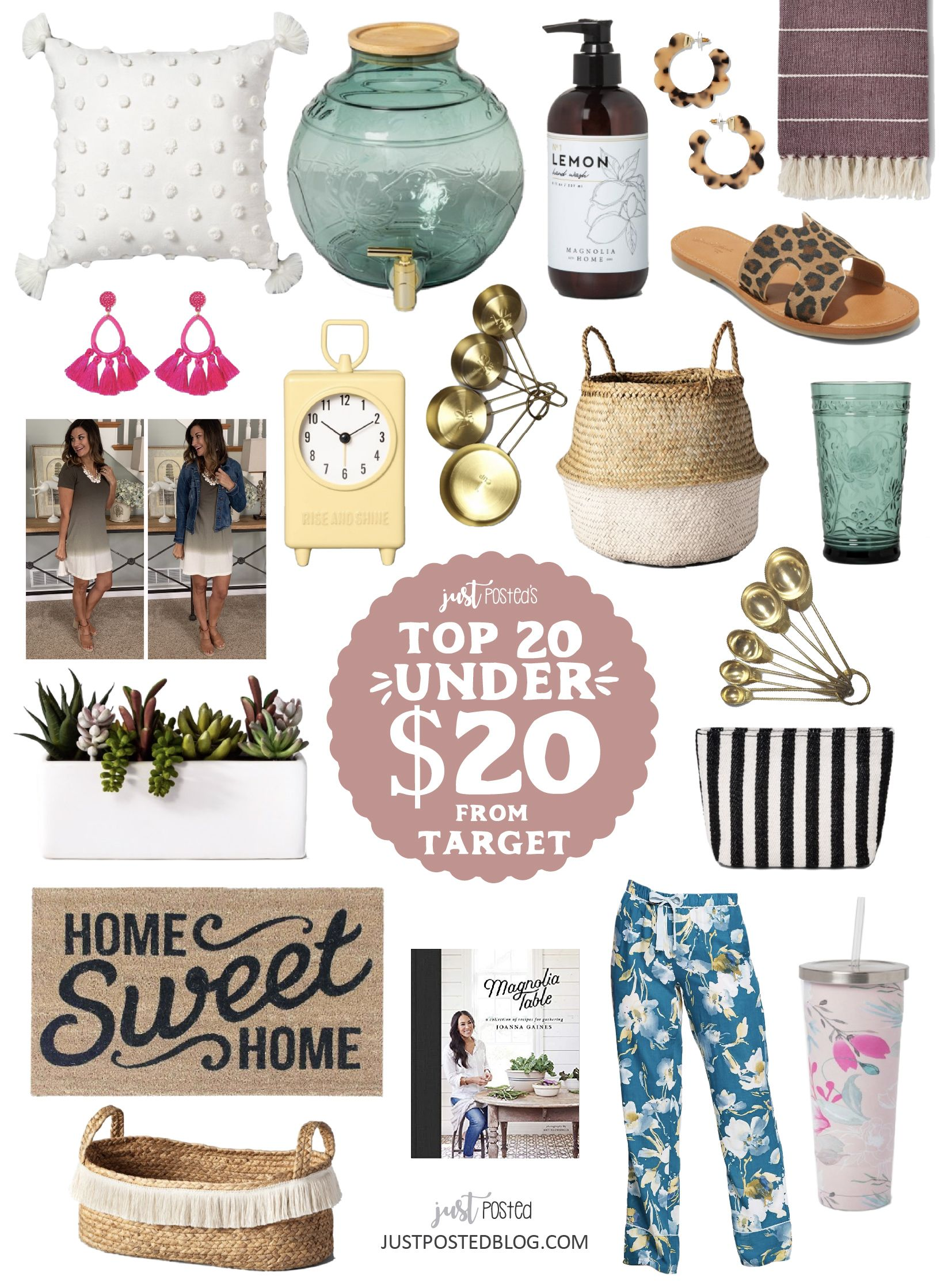 A just posted target top 20 finds under 20 from clothing