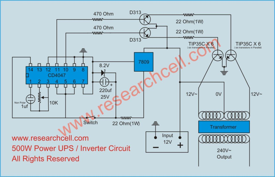 medium resolution of inverter circuit diagram