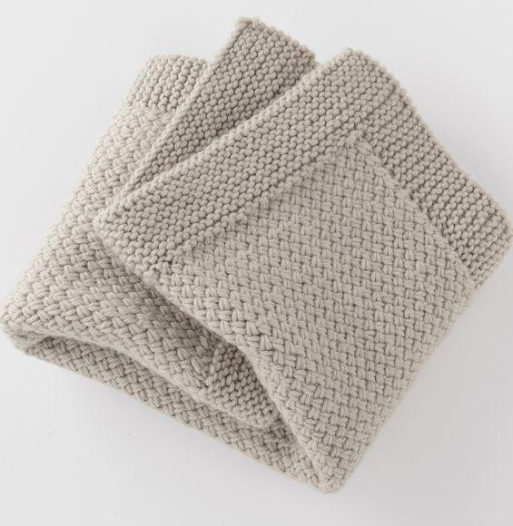 Modele de couverture en laine