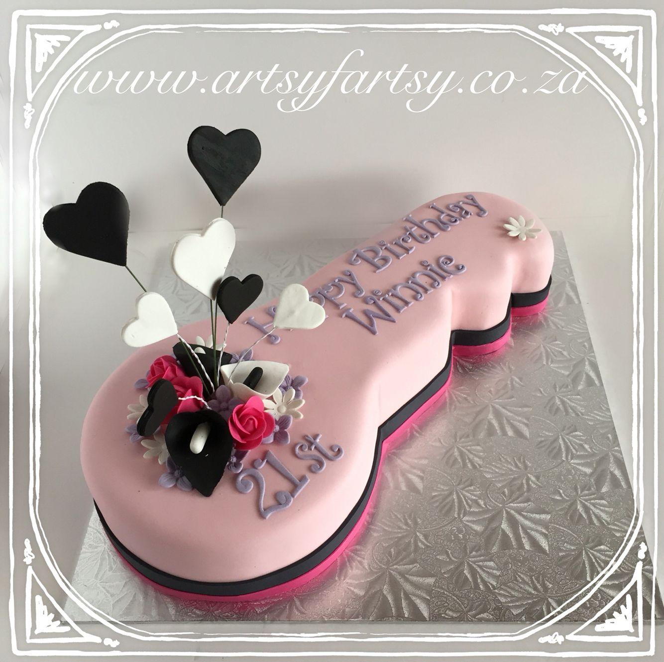 21st Birthday Key Cake 21stbirthdaykeycake Number Cakes And