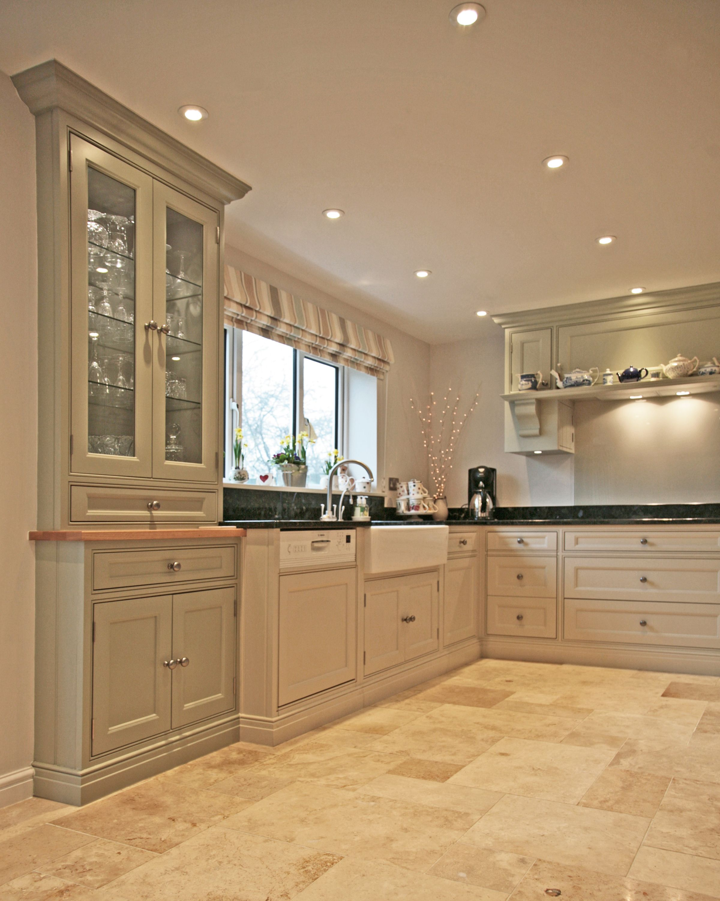 Create a focal point in your kitchen with a tall unit, specially