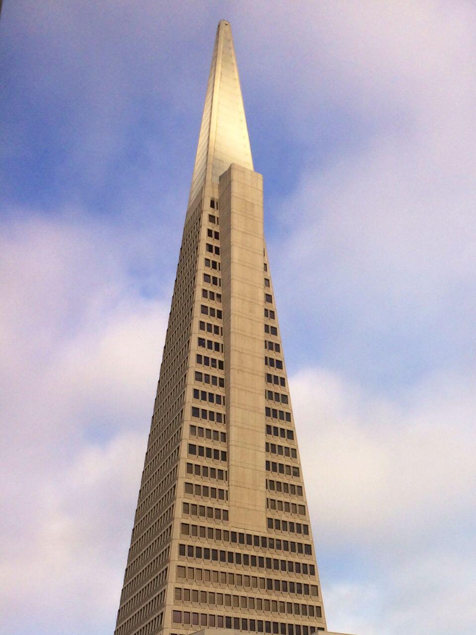 The Transamerica Pyramid at sunrise, San Francisco CA