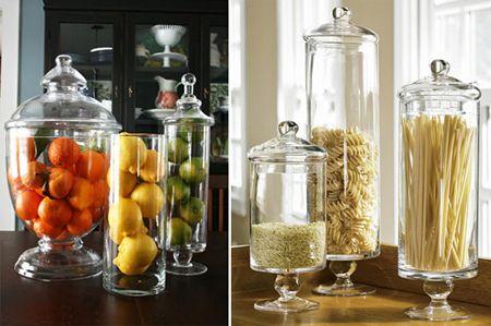 Apothecary Jar Decor Decorating With Apothecary Jars  Kitchen Display Apothecaries