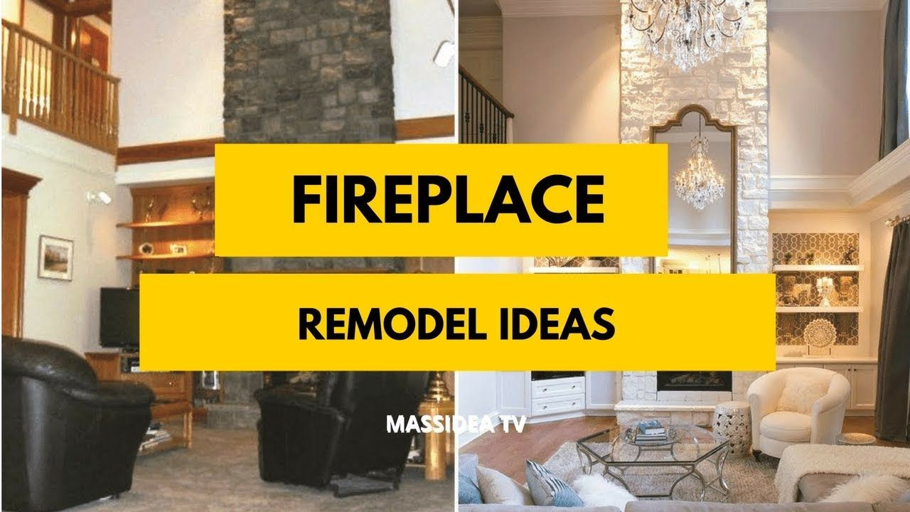 how to remodel a fireplace yourself