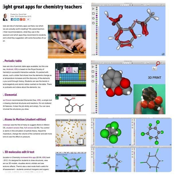 Royal society of chemistry eight great apps for chemistry teachers app 3d molecules edit test ipad mac httpift1ohqood its designed for students to draw structures view them as 3d models visualise urtaz Choice Image