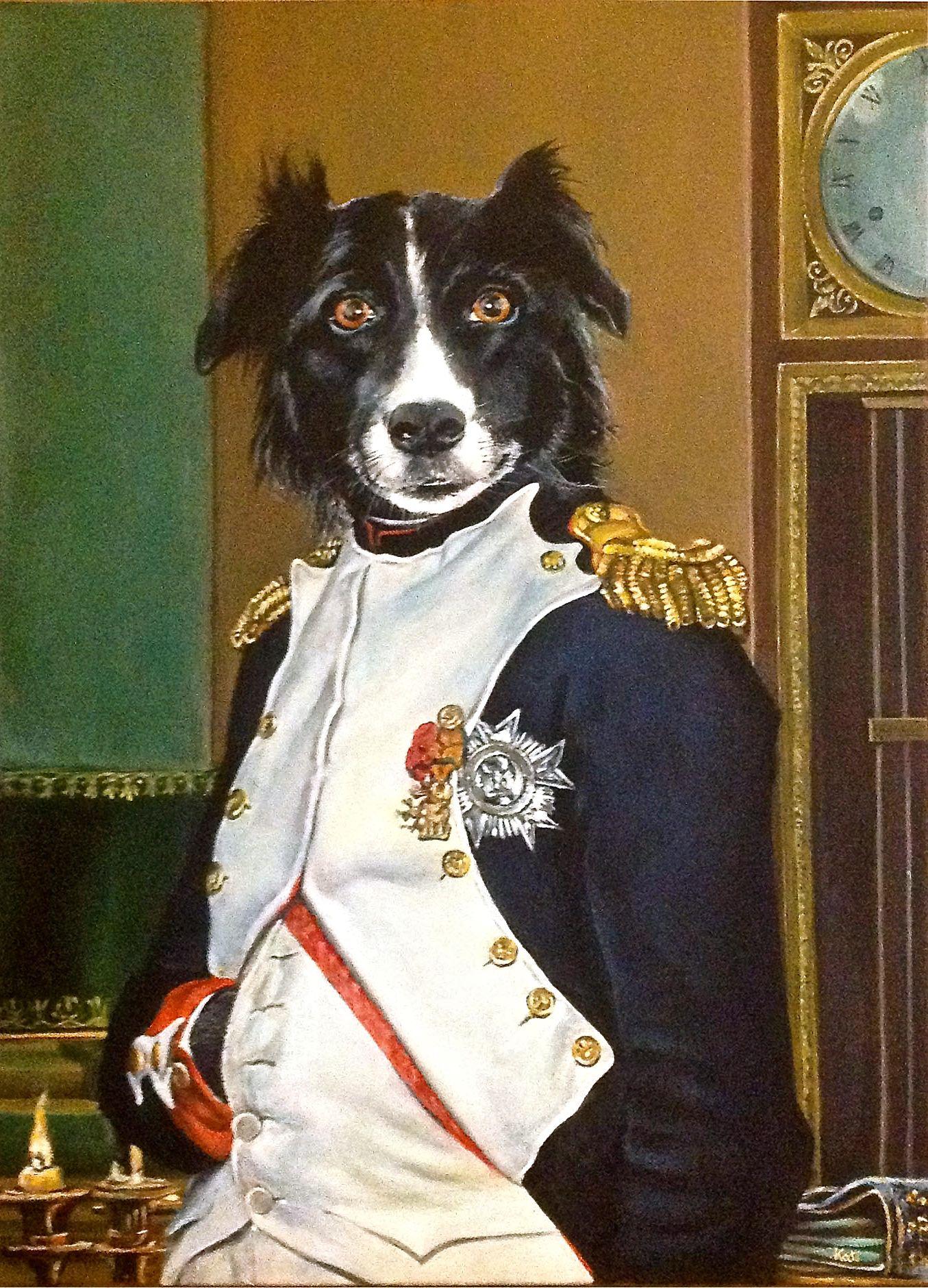 Buck Napoleon Toile Acrylique Janv 2015 Toile Acrylique Animaux Peinture