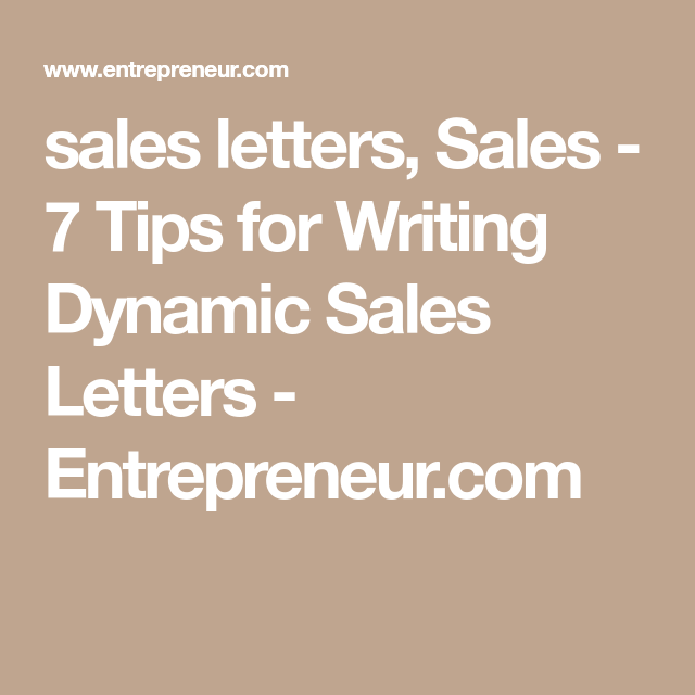 7 Tips For Writing Dynamic Sales Letters Simply Copywriting Skill
