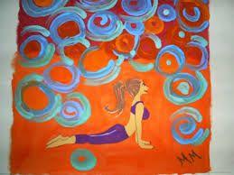 Resultado de imagen para pinturas yoga