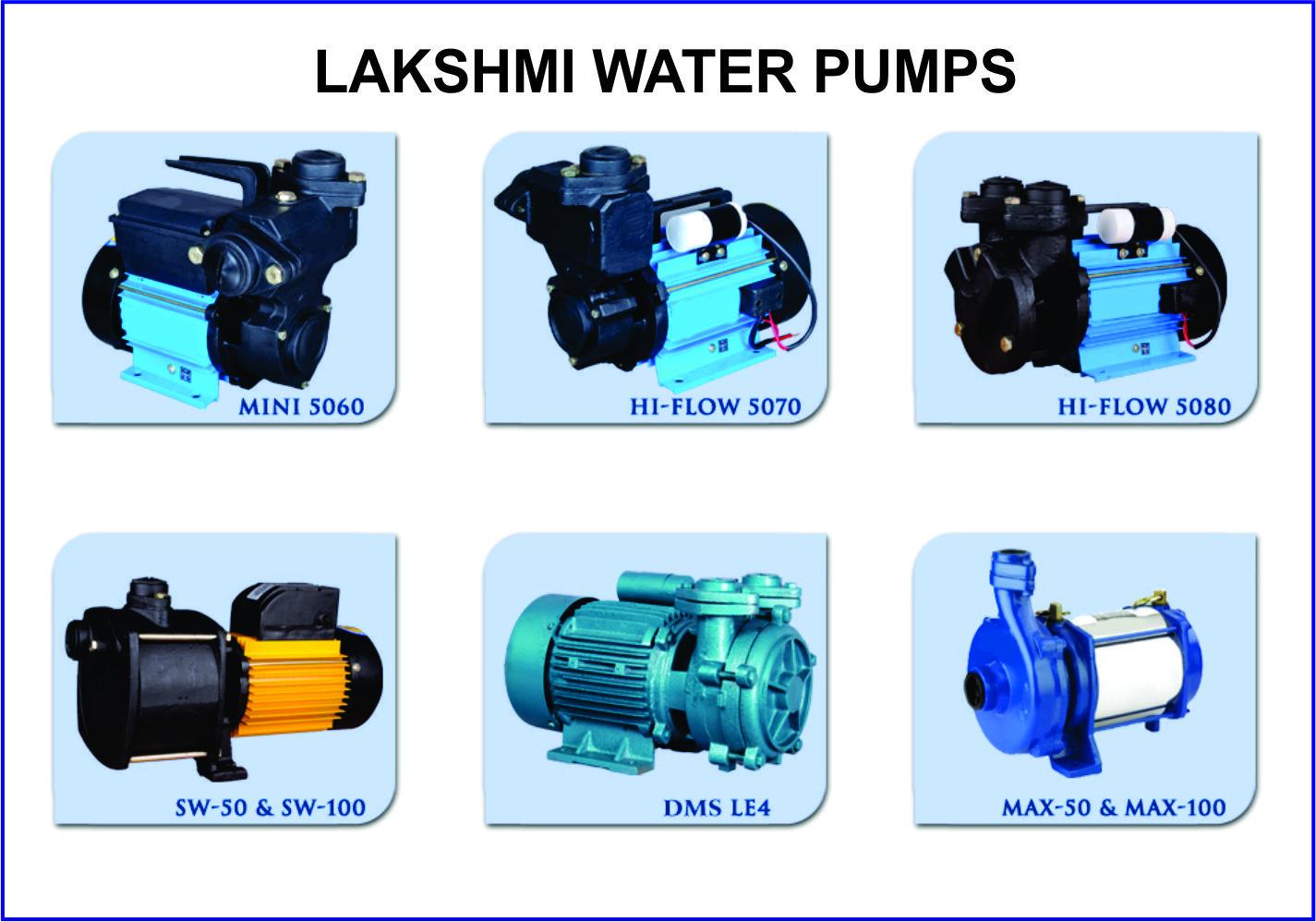 Lakshmi Engineeringss SELF PRIMING REGENERATIVE PUMPS