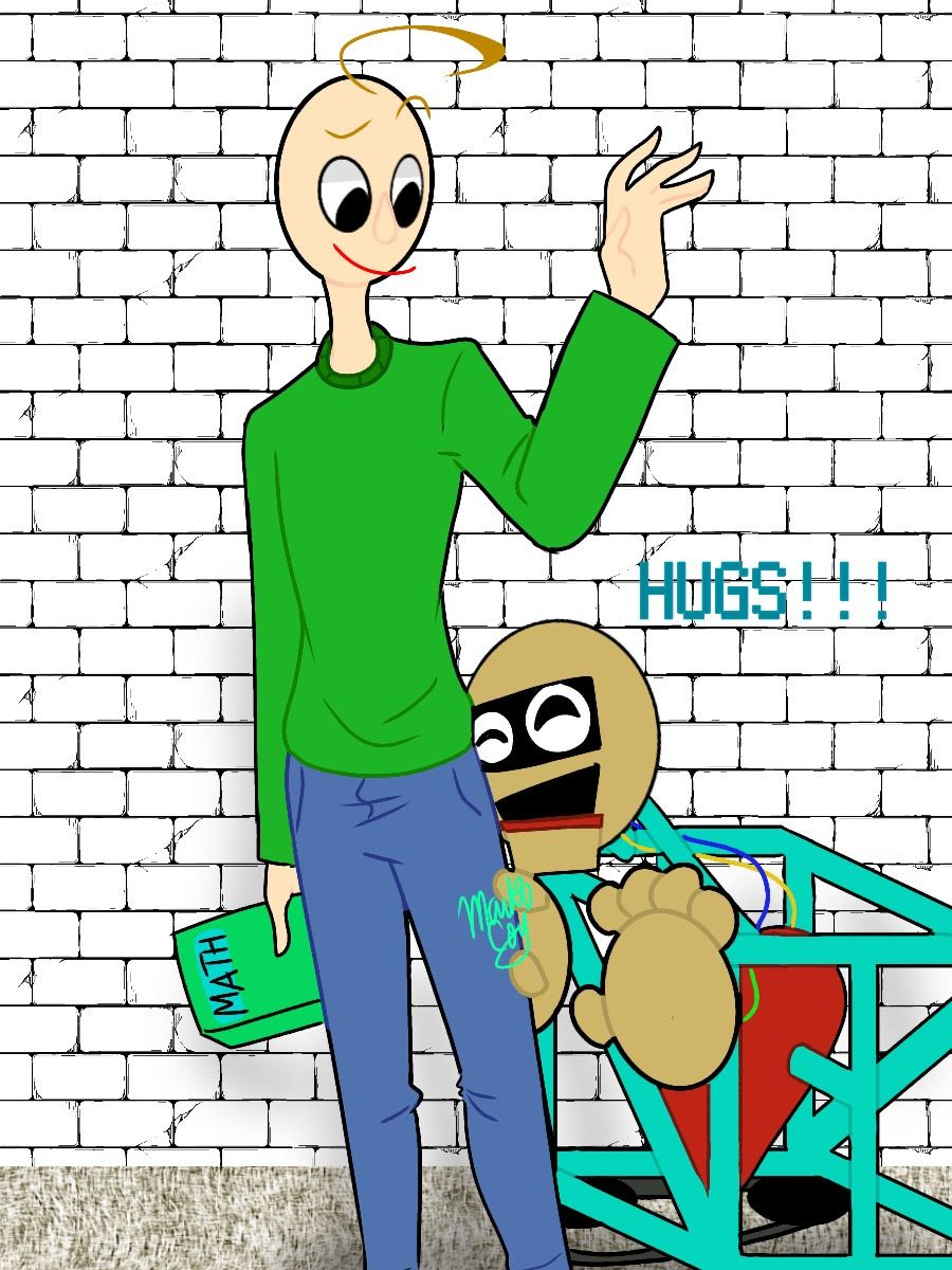 Now I Fell Bad About Hating Baldi Cause That S Adorable With