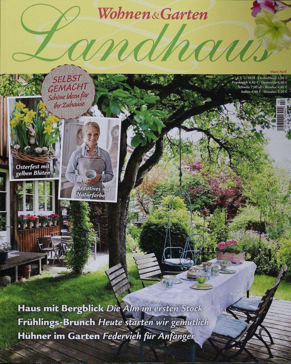 Wohnen Garten Landhaus Zeitschrift Aus Der Ganzen Welt Von Wohnen