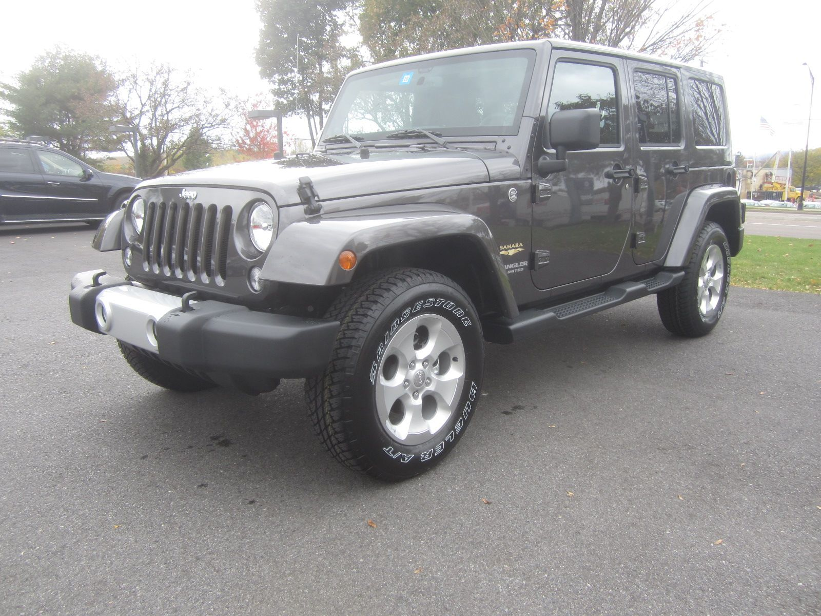 4 Door Sahara In Granite 4 Door Jeep Wrangler 2014 Jeep