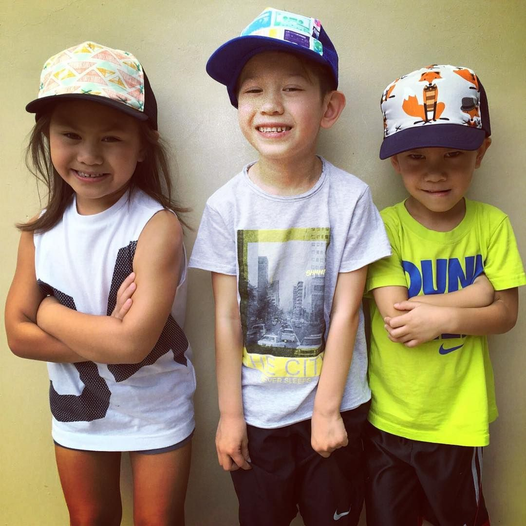 Toddler Trucker Hats.  These are all so cute!  Each hat is hand stitched and so fun.  Perfect style for the outdoor kid.