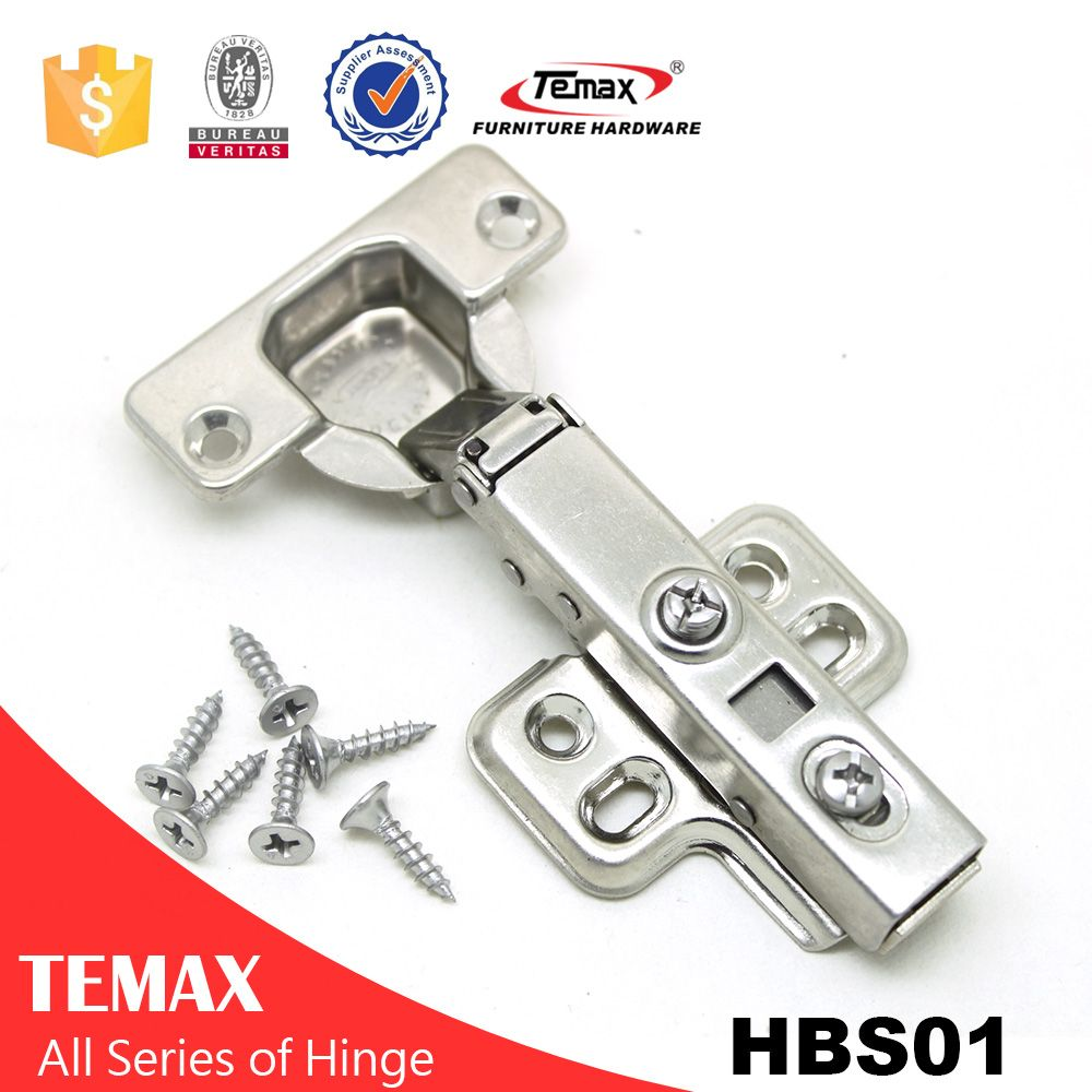 Spring Loaded Hinges For Cabinets Stainless Steel Series