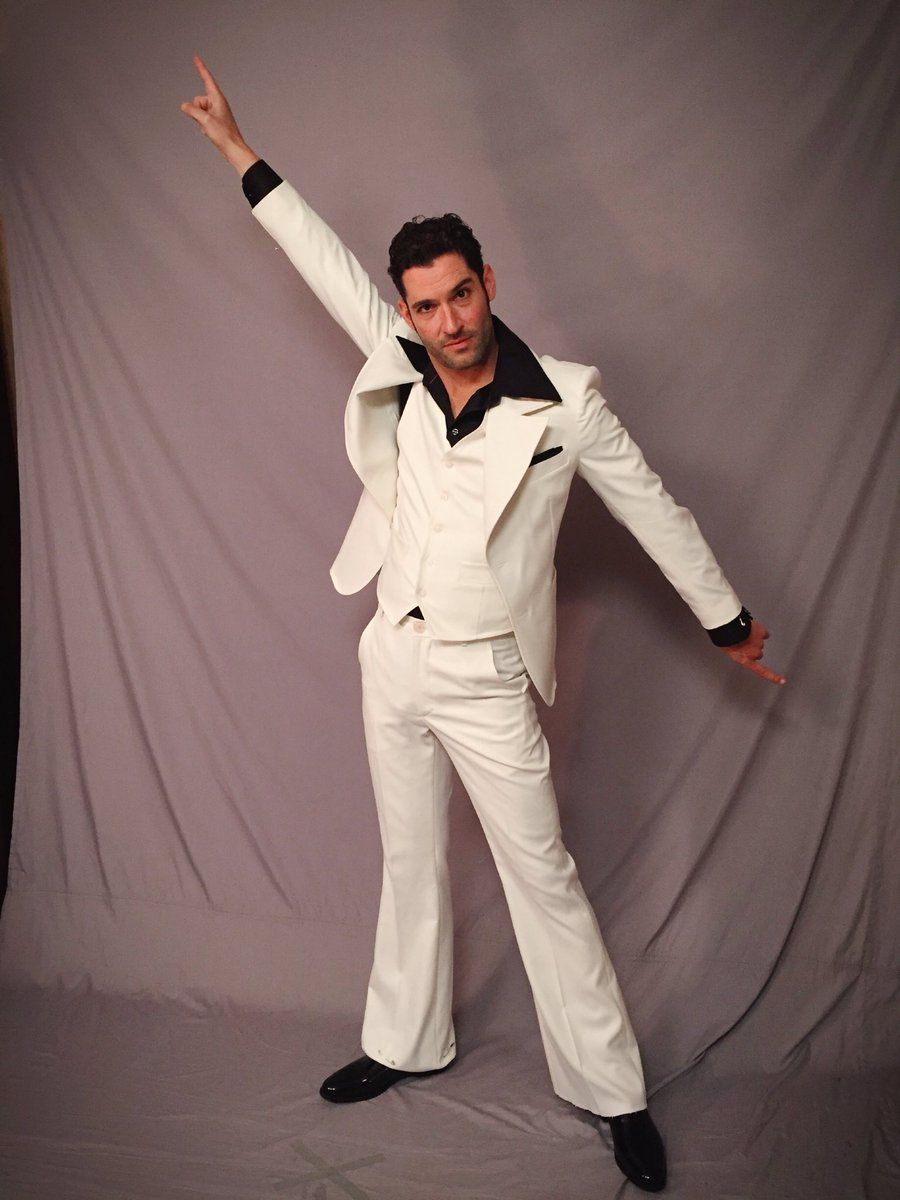 Tom Looking All Saturday Night Fever Tom Ellis Lucifer Tom