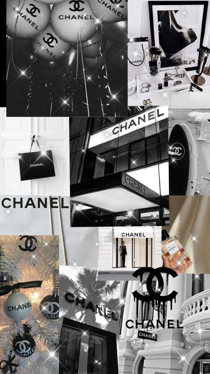 Chanel Karl Lagerfeld Chanel Black And White Aesthetic Paris Fashion Week Chanel