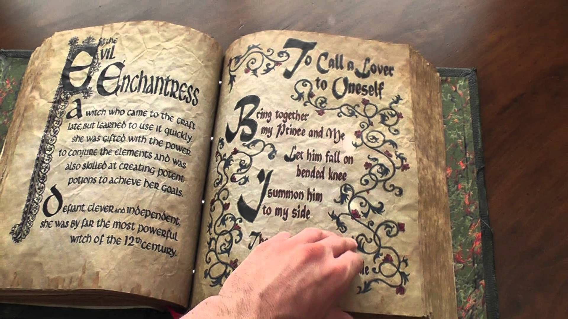 Full Flip Through Of My Charmed Book Of Shadows Replica Charmed Book Of Shadows Book Of Shadows Witch Books