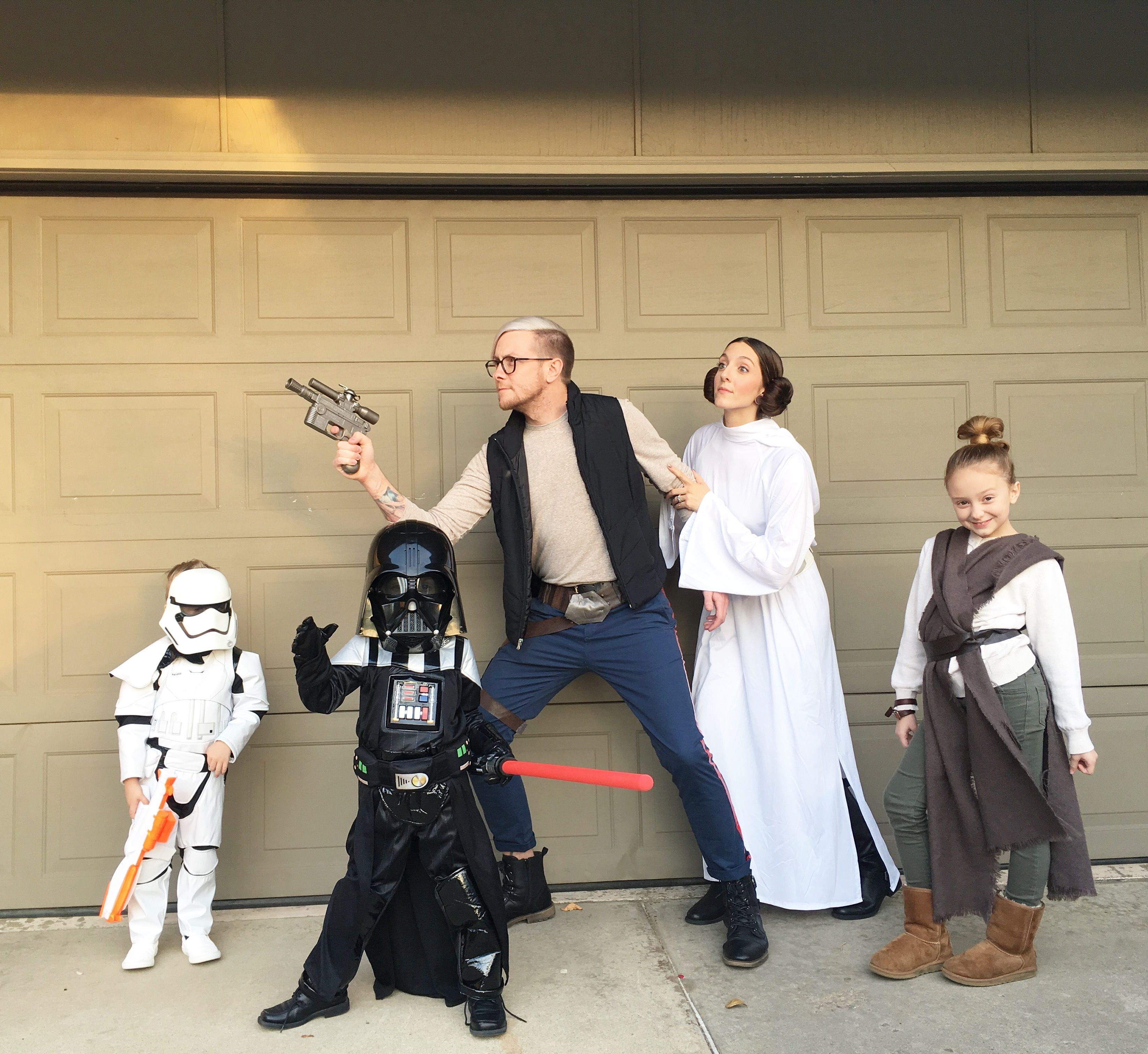 Our Family Halloween Costumes Star Wars Storm Trooper -1504