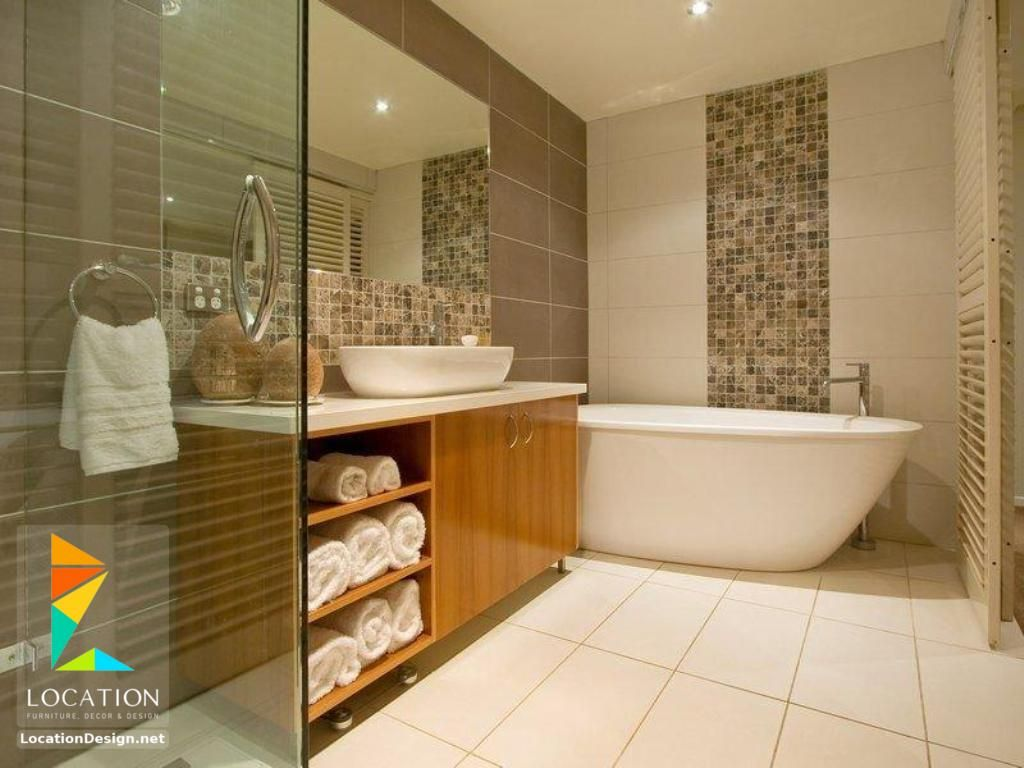أحدث واجمل سيراميك حمامات مودرن للأرضيات والجدران Best Bathroom Designs Bathroom Remodel Master Bathrooms Remodel