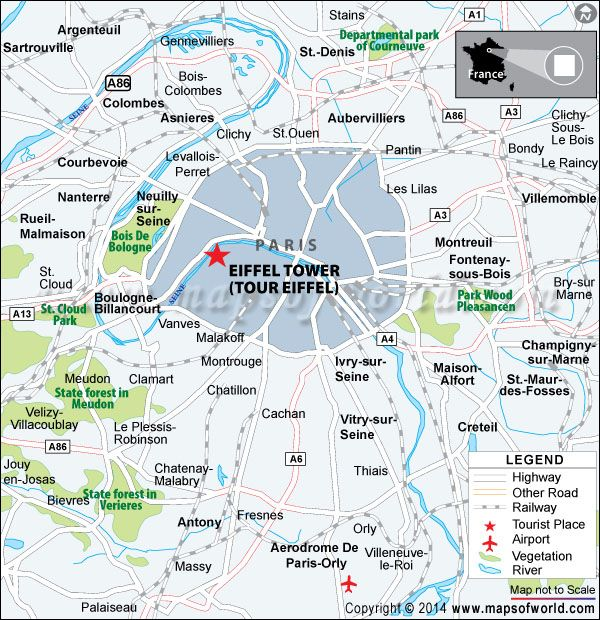 Eiffel Tower Travel Information Facts Map Best Time To Visit