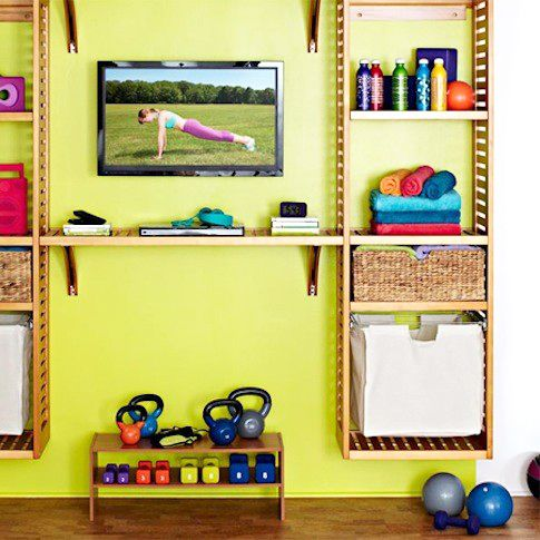 10 Small-Space Home Gym Hacks for Your Tiny Apartment | Tiny ...