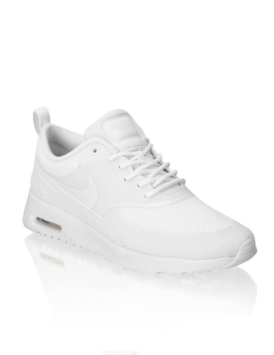 HUMANIC - White Nike Air Max Thea - http://www.humanic.