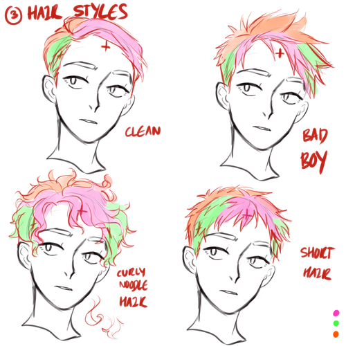hair tutorial?! please 3 Guy drawing, How to draw hair