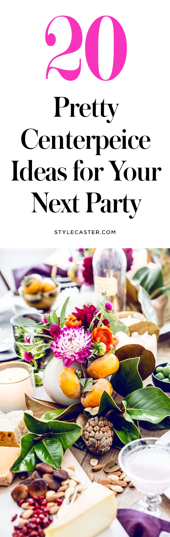 20 Pretty Centerpieces to Take Your Party to the NextLevel