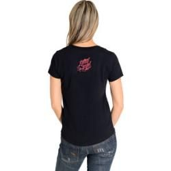 Photo of Lethal Angel Skull Tattoo Damen T-Shirt schwarz Mlouis.de