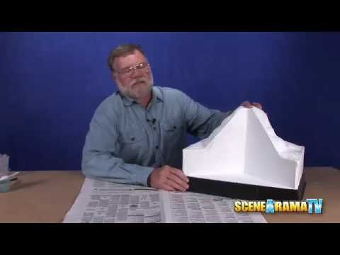 How To Build An Erupting Volcano Diorama - School Project   Scene ...