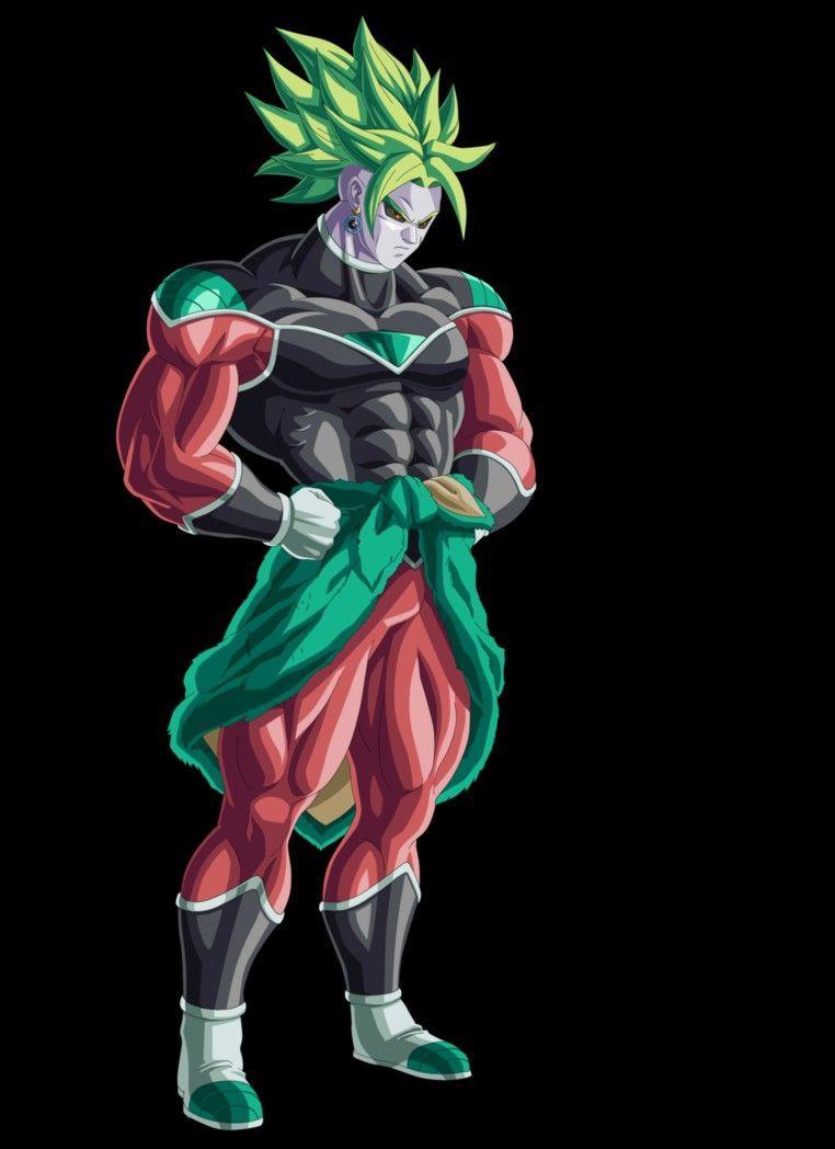 Broji Jiren Y Broly Fusion Dragon Ball Super Manga Dragon Ball Artwork Dragon Ball Super